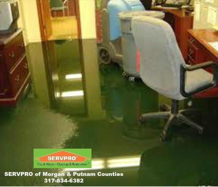 Water Damage SERVPRO of Morgan & Putnam Counties 24 Hour Emergency Water Damage Service