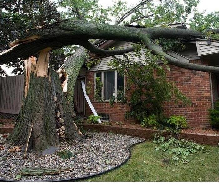 Storm Damage When Storms or Floods hit Mooresville, SERVPRO is ready!