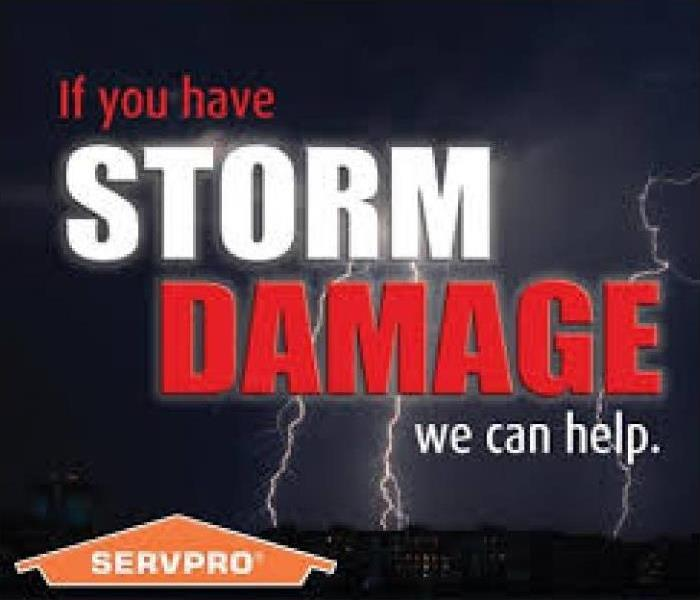 Storm Damage Let SERVPRO of Morgan & Putnam Counties Be the Calm in your Chaos!